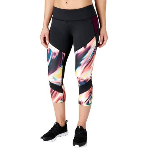 Reebok Women's Performance Essentials Printed Capris $10.97 + free shipping