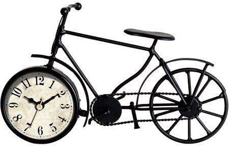 Better Homes and Gardens Metal Bicycle Table Clock $10.88