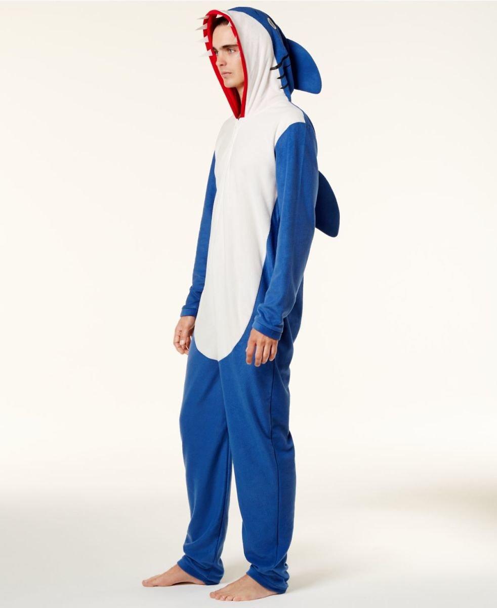 Bioworld Men's Shark Onesie Costume for 29.99 $29.99