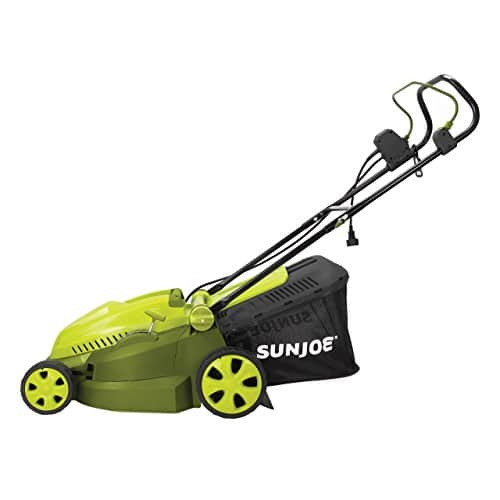 Sun Joe MJ402E Mow Joe 16-Inch 12-Amp Electric Lawn Mower + Mulcher - $79.98 Prime Members