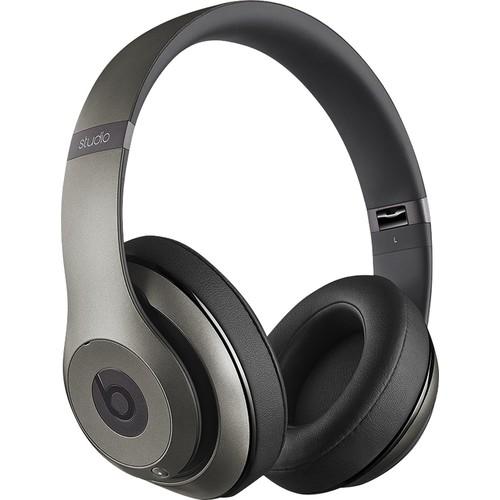Beats Studio Wireless Bluetooth Over-Ear Headphones with Adaptive Noise Canceling (Titanium) $179.99
