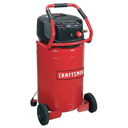 Craftsman 20 Gallon 1.8 HP Oil-free Vertical Air Compressor