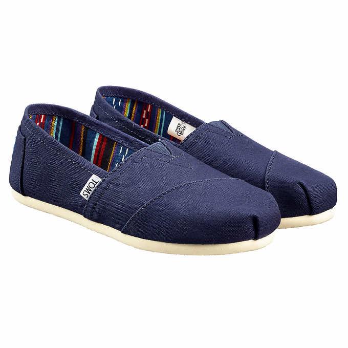 Toms Ladies' Classic Alpargata Shoe [member only item] $19.99 at Costco