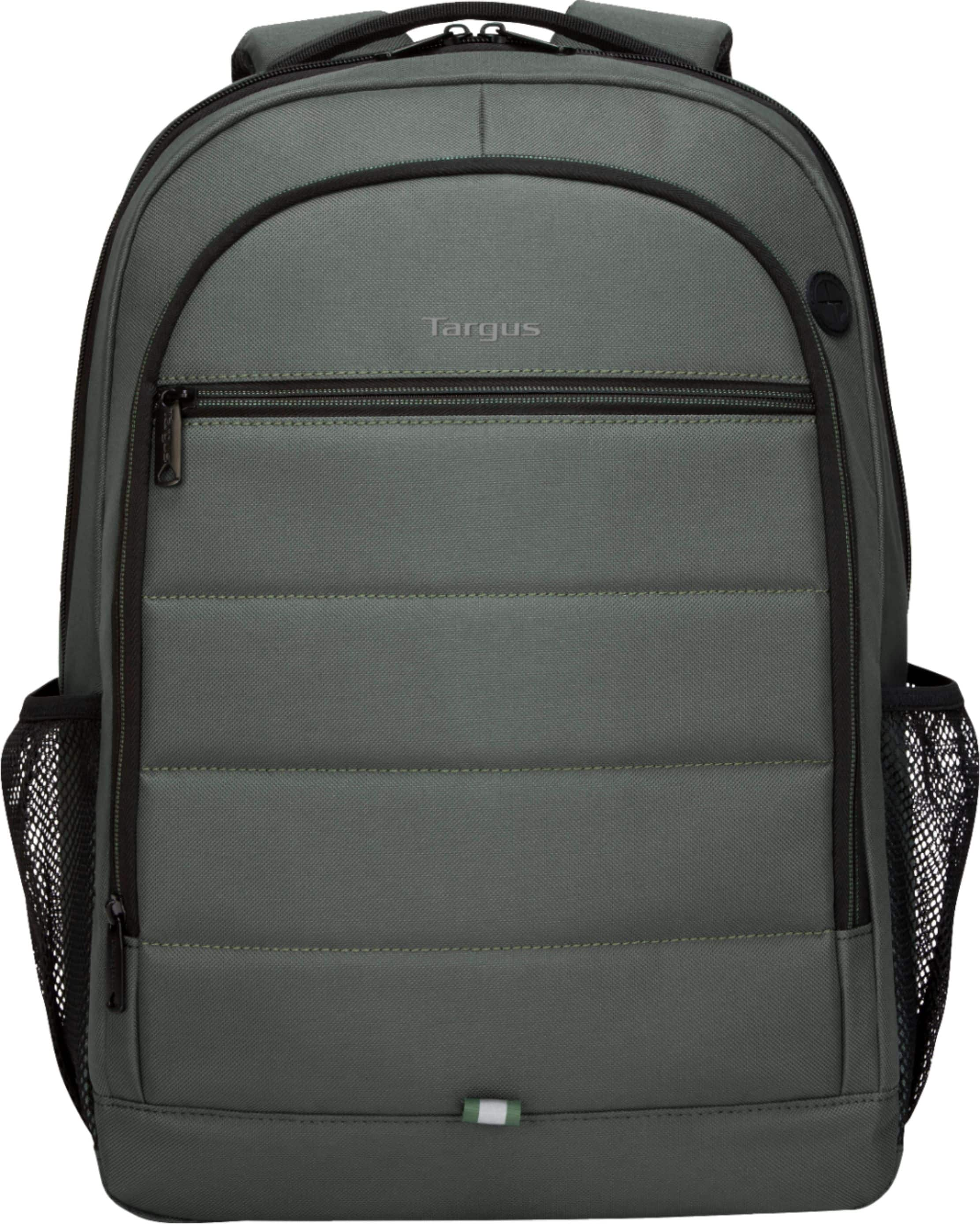 "[9.99$] Targus Octave Backpack for 15.6"" Laptops Olive TBB59305GL - Best Buy"