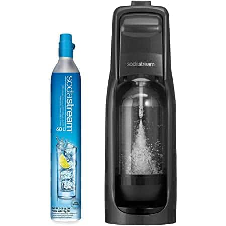 Sodastream Fizzi Sparkling Water Maker (Black) with CO2 and BPA free Bottle - $49.99 Amazon