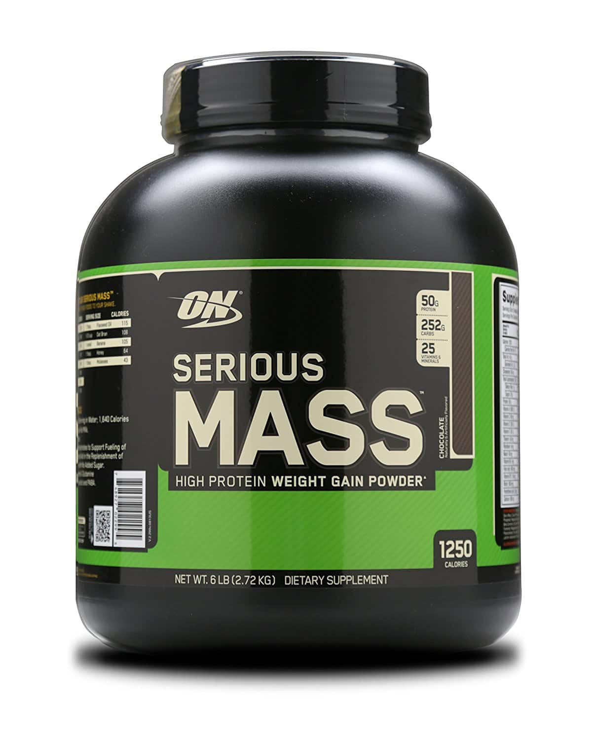Prime Members: Optimum Nutrition Serious Mass Gainer, Chocolate, 6 Pound $14.13
