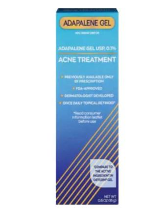 CVS Health Adapalene Gel USP 0.1% Acne Treatment, 1.6 OZ  45g- Generic Differin Gel $8.79