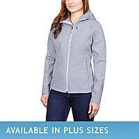Costco Kirkland Signature (house brand) soft-shell jackets $  20 online and B&M.