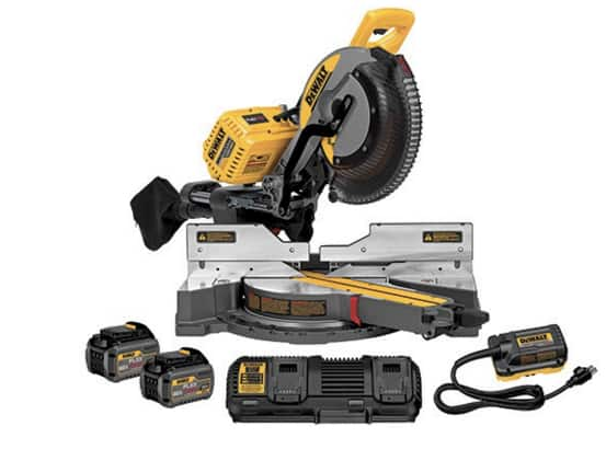 Dewalt DHS790AT2 120V MAX Cordless Lithium-Ion 12 in. Sliding Compound Miter Saw Kit with 2 FLEXVOLT Batteries & Adapter for $559.20 w/20% off, free shipping and no tax for most