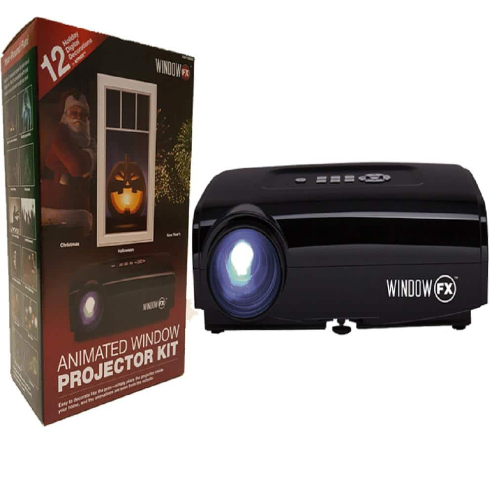 Window FX Projector Animated $1725 Home Depot B&ampM  Page - Christmas Decorations Home Depot