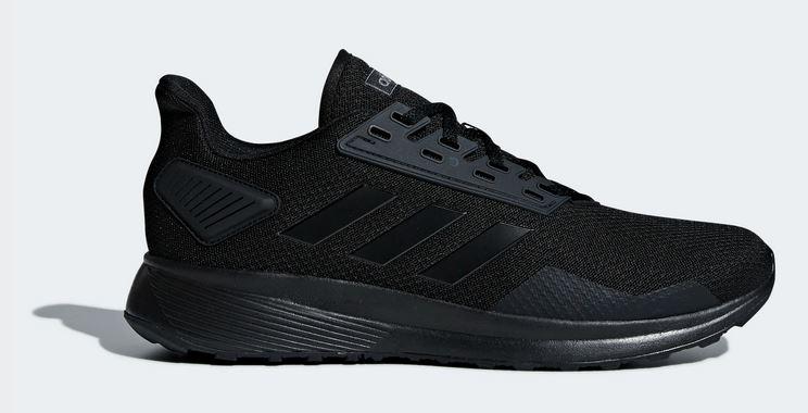 Adidas Men's Duramo 9 Running Shoes (Black, Limited Sizes) $24 + Free S&H