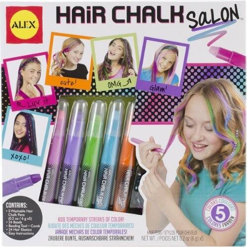 Deal of the Day, US$6.39, ends in 06h, ALEX Spa Hair Chalk Salon