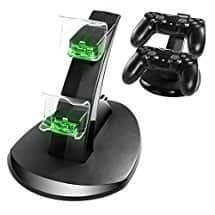 CPPSLEE PS4 Controller Charger Dock for $6.88