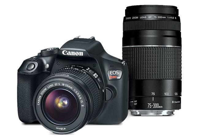 Canon T6 - $349 @ frys