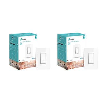 TP-Link smart switches $10-$15 off at Costco (packs of two) online only, free shipping $39.99