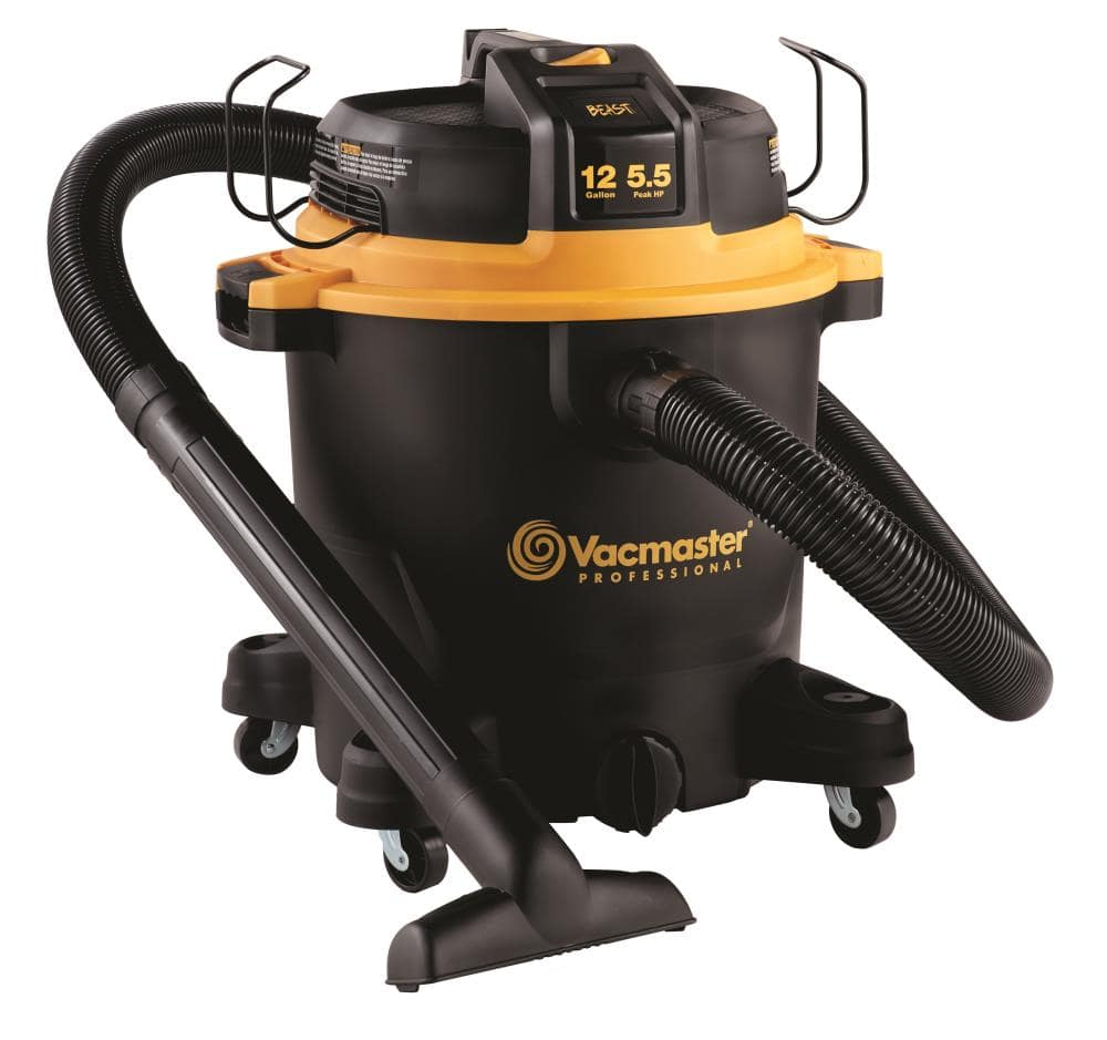 YMMV in store only Vacmaster Professional 12-Gallon Corded Portable Wet/Dry Shop Vacuum Lowes.com - $55.57