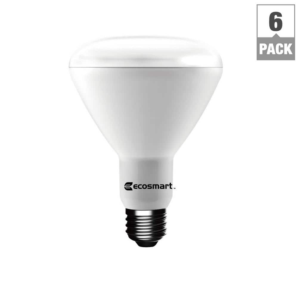 65W Equivalent Daylight BR30 Dimmable LED Light Bulb (6-Pack) $9.88