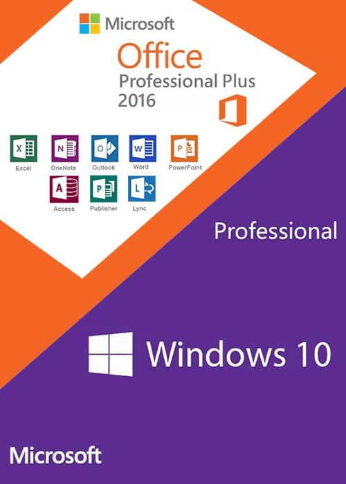 82% off Windows10 PRO OEM + Office2016 Professional Plus CD Keys Pack  $37.92 @ scdkey