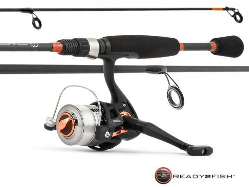 Ready 2 Fish All Species Spinning reel and rod Combo with Kit with lures $6.38