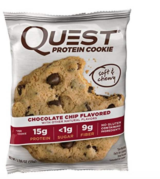 Quest nutrition protein cookie chocolate chip 30.79 for 2 boxes $15.4