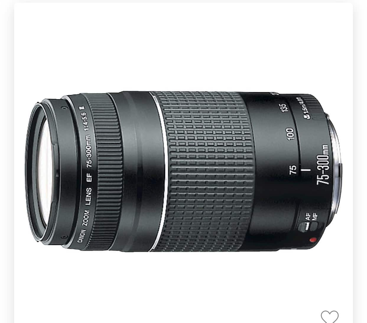 Canon EF 75-300mm - $49.99