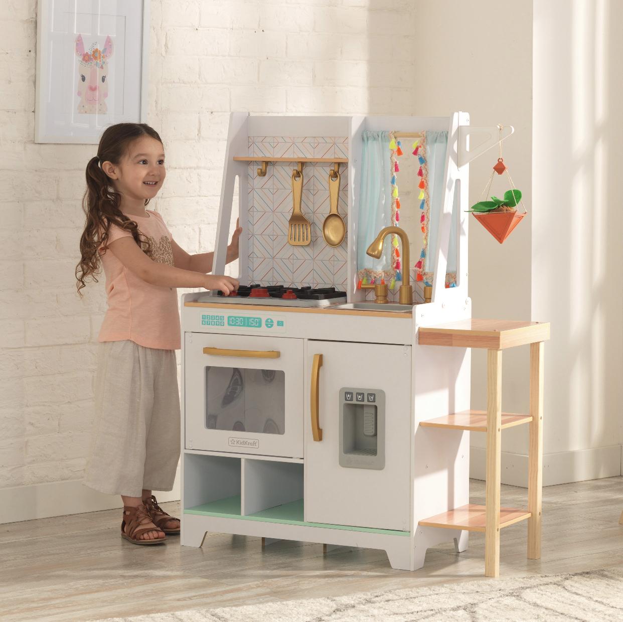 Kidkraft boho bungalow play kitchen -39.98 - ymmv $39.98