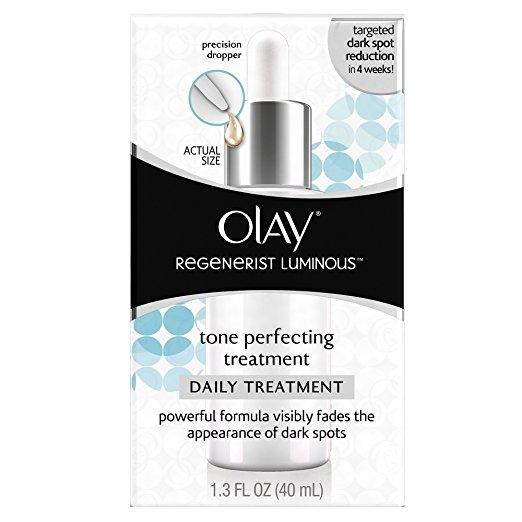 Olay Regenerist Luminous Tone Perfecting Treatment, 1.3 Fl Oz $16.23@amazon