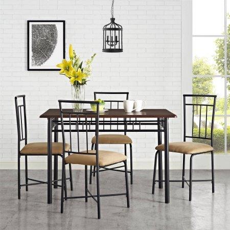 Mainstays 5-piece Dining Set, Multiple Colors $109.97 @Walmart w/ FS