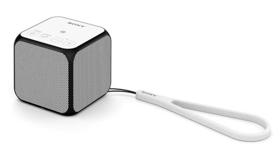 Sony SRSX11 Portable Wireless Bluetooth Speaker with Built-In Mic - NEW $37.99 at Groupon