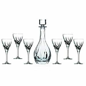 Lorren Home Trends RCR Trix Wine Set, 7-Piece $13.88 & FREE Shipping on orders over $25