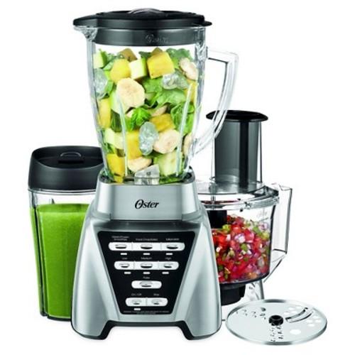 Oster® Pro 1200 Blender Plus Smoothie Cup & Food Processor - Brushed Nickel-BLSTMB-CBF-000 $56.00