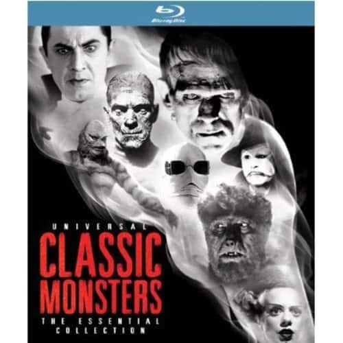 Universal Classic Monsters: The Essential Collection  Blu-ray (8 discs) $35.99 & FREE Shipping
