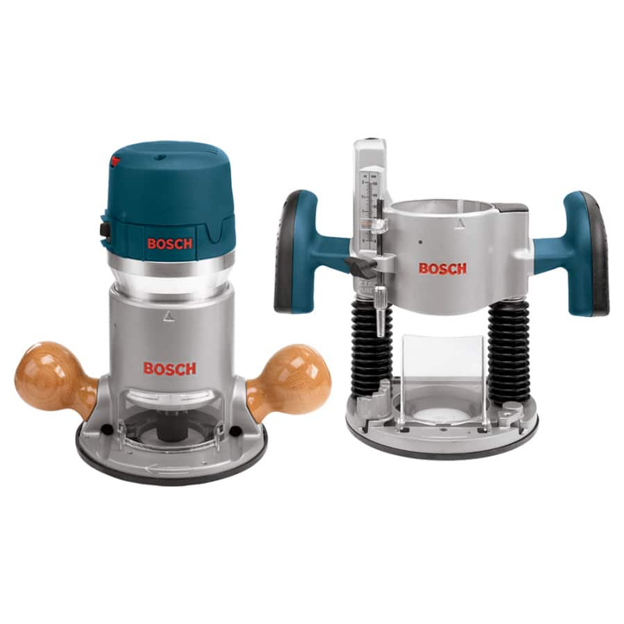Bosch 2.25-HP Variable Speed Combo Fixed/Plunge Corded Router $146 after coupon