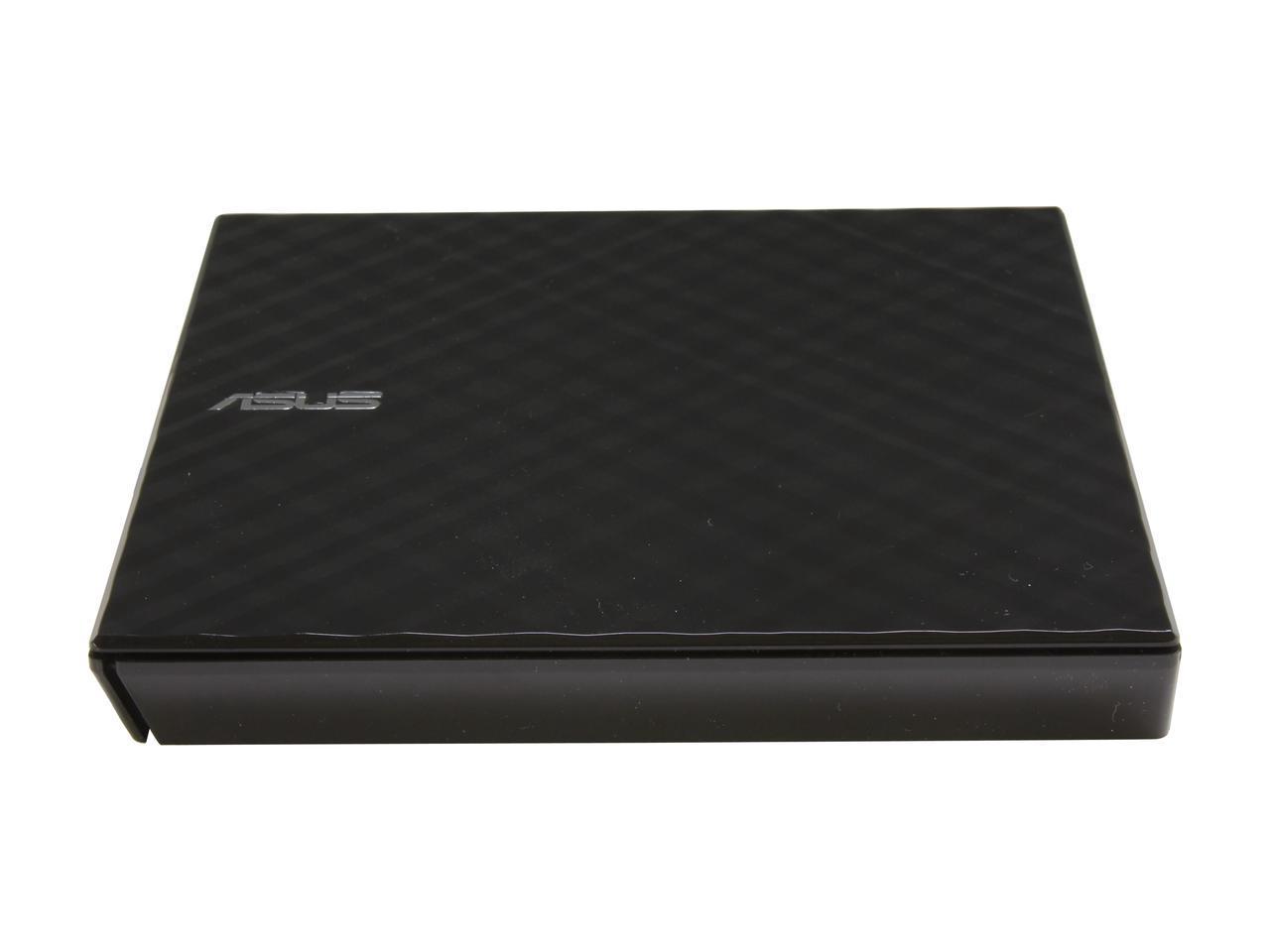 Asus 8x USB 2.0 Black Portable External Slim CD/DVD Re-writer (SDRW-08D2S-U) for $10.99 AR + S&H @ Newegg