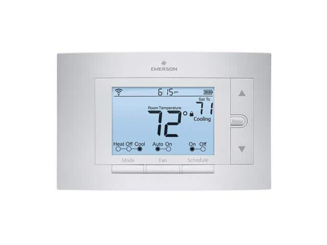 Emerson Sensi Wi-Fi Programmable Digital Thermostat for Smart Home (UP500W) for $89.00 + $10.00 Newegg Gift Card @ Newegg