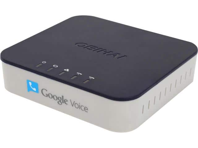 Obihai OBi202 VoIP Phone Adapter with Router – Google Voice, SIP & T.38 Fax Support for $54.99 AC + Free Ship @ Newegg