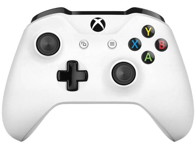 Microsoft Xbox White Wireless Controller + Free 3 Months of Xbox Live Gold Membership for $39.99 + Free Ship @ Newegg