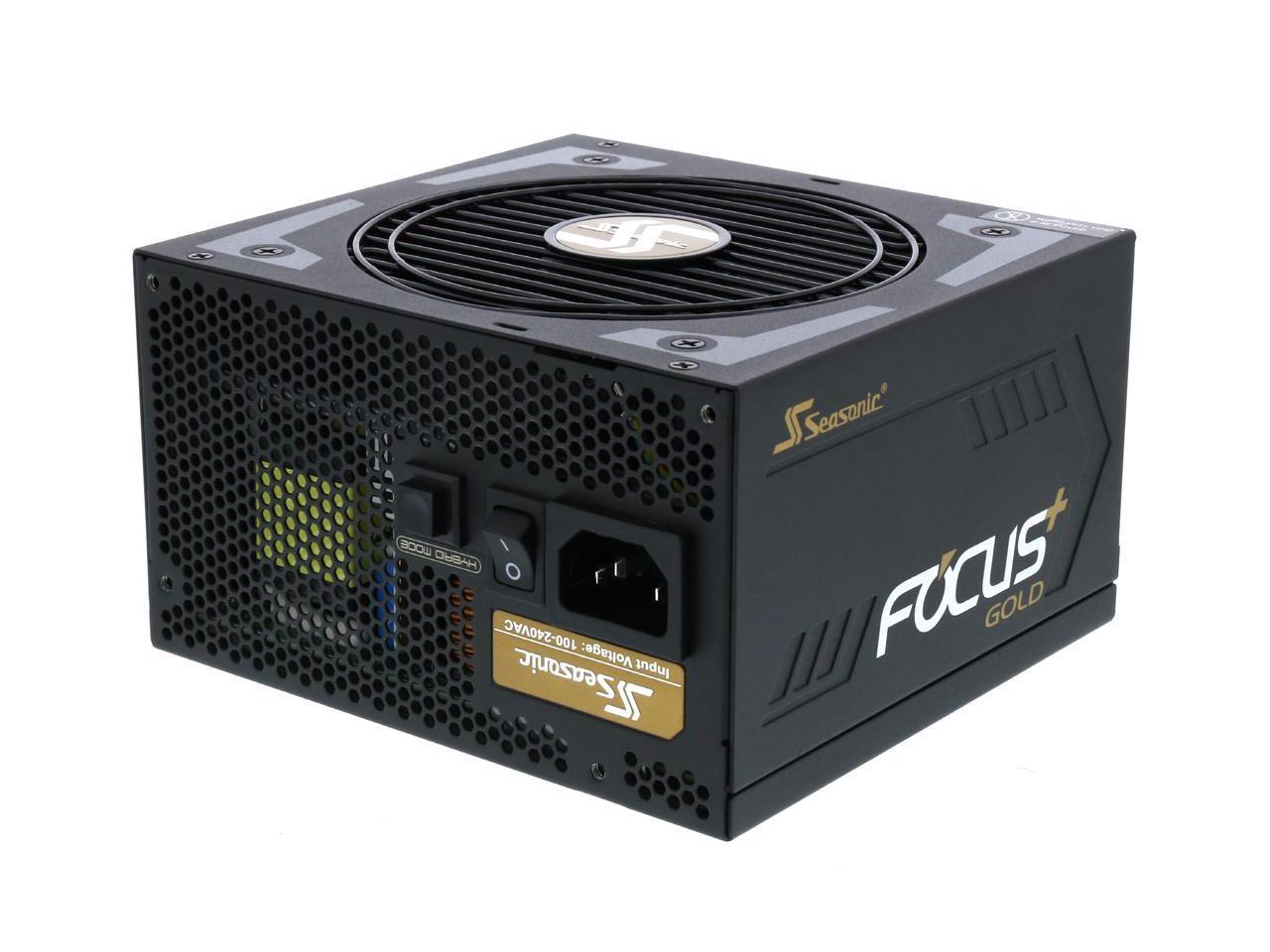 750W Seasonic FOCUS Plus Series 80 Plus Gold Full Modular Power Supply (SSR-750FX) for $57.90 AR & More + Free Ship @ Newegg.com