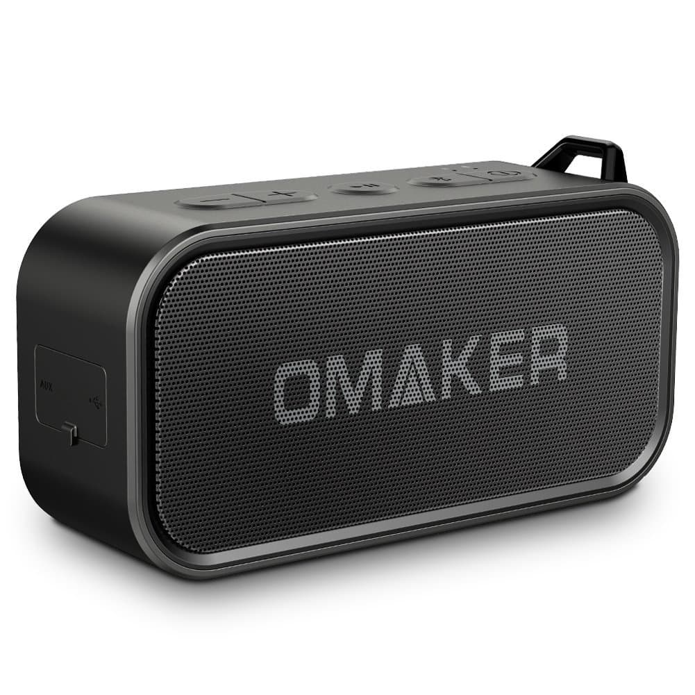 Omaker M6 Portable Dual-Driver Bluetooth 4.0 Outdoor Waterproof Speaker with Built-In Mic for $17.79 AC + Free Shipping @ Amazon