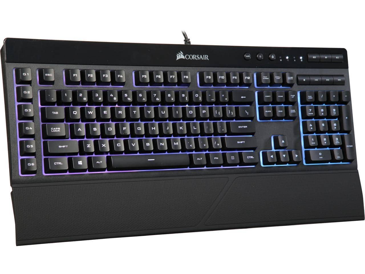 Refurbished Sale: Corsair K55 RGB Gaming Keyboard for $28.99 + S&H or Logitech K480 Bluetooth Multi-Device Keyboard for $16.99 + Free Ship @ Newegg
