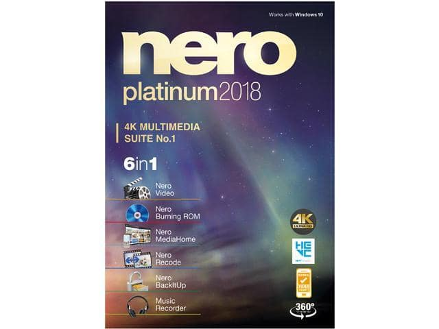 Nero Platinum 2018 + H&R Block Tax Software Deluxe + State 2017 for $9.99 AR or Nero Burn Express 3.0/MAGiX Music Maker Live 2016 + H&R Block for Free After Rebate + FS @ Newegg
