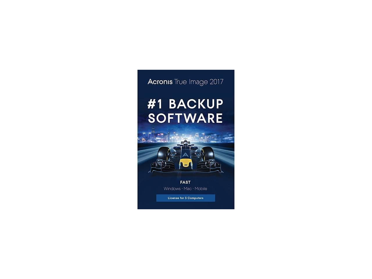 Acronis True Image 2017 (3 Devices) + H&R Block Tax Software Deluxe + State 2017 for Free After Rebate + Free Ship @ Newegg