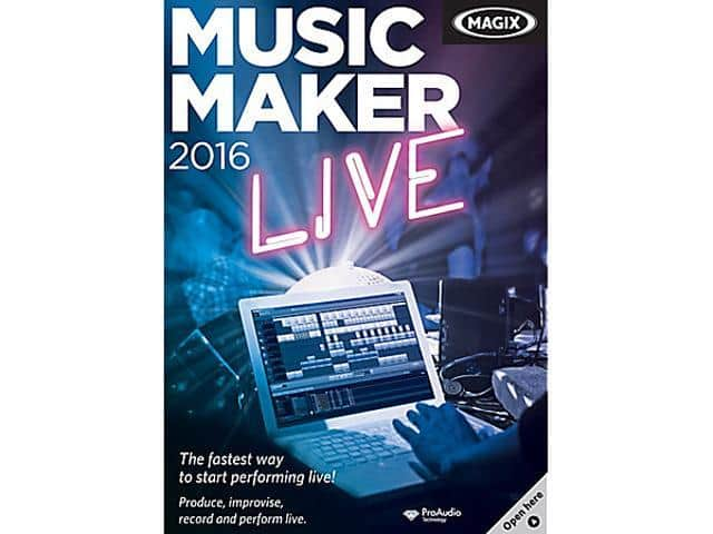 MAGIX Music Maker Live 2016 + H&R Block Tax Software Deluxe + State 2017 for Free After Rebate + Free Ship @ Newegg