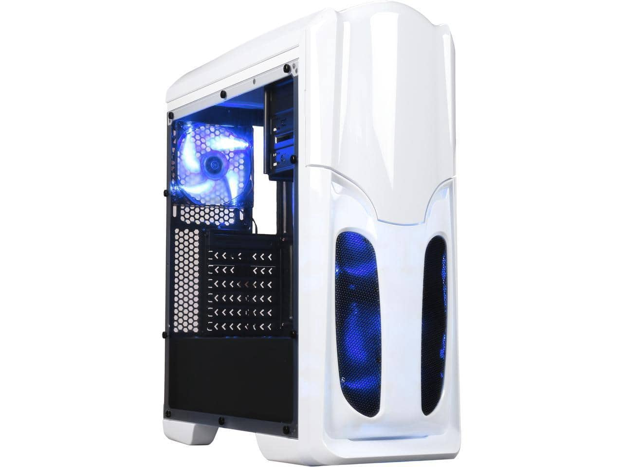 DIYPC VT380-W White Windowed ATX Mid Tower Gaming Computer Case for $24.89 AR or Cooler Master MasterBox Lite 3.1 mATX Case for $26.99 AR + Free Ship @ Newegg