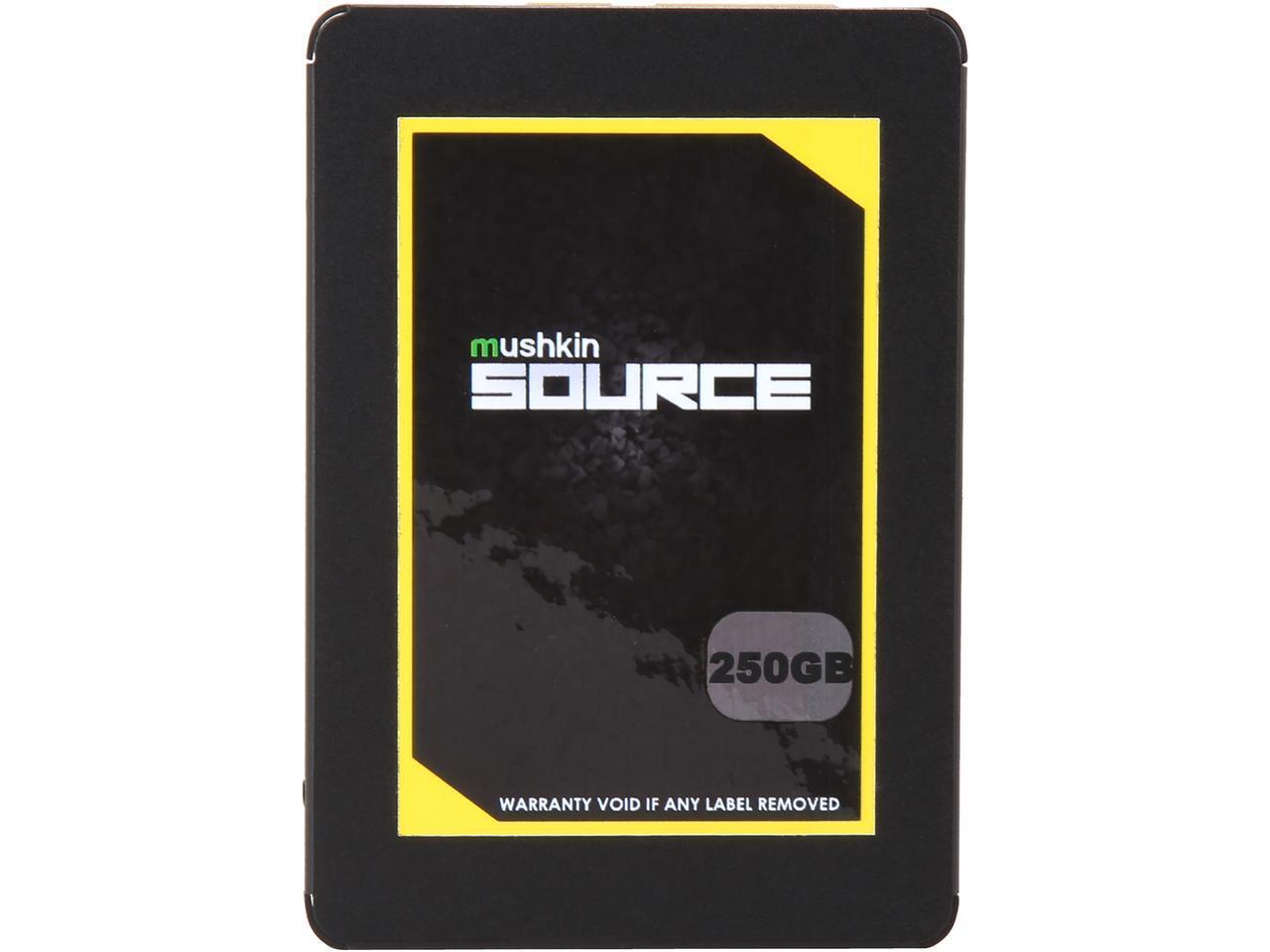 "250 GB Mushkin Enhanced Source 2.5"" SATA III 3D TLC Internal Solid State Drive for $54.99 + Free Ship @ Newegg"