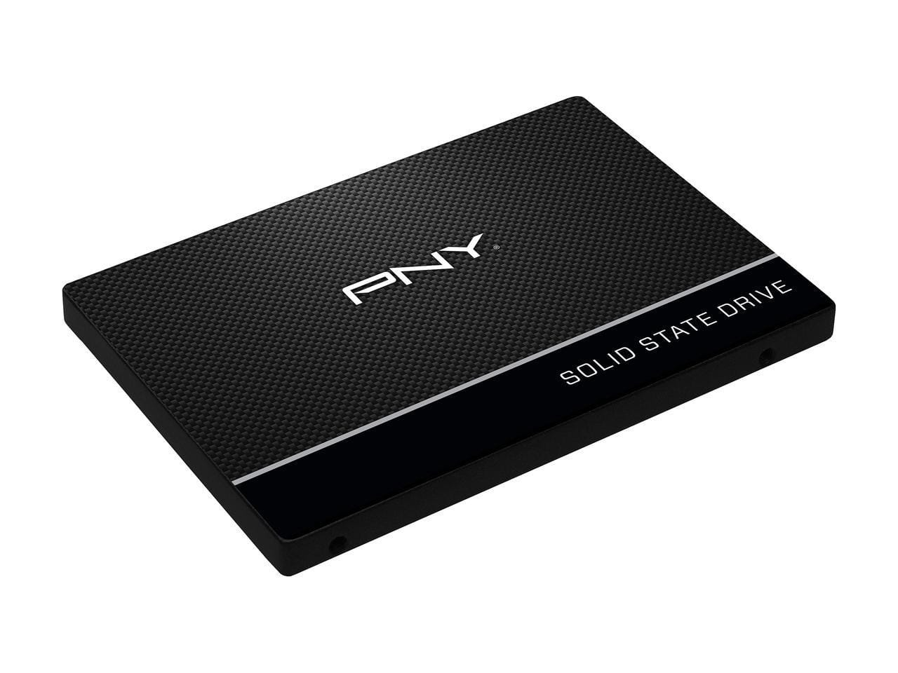 """120 GB PNY CS900 2.5"""" SATA III 3D NAND Internal Solid State Drive for $34.99 AC + S&H @ Newegg"""