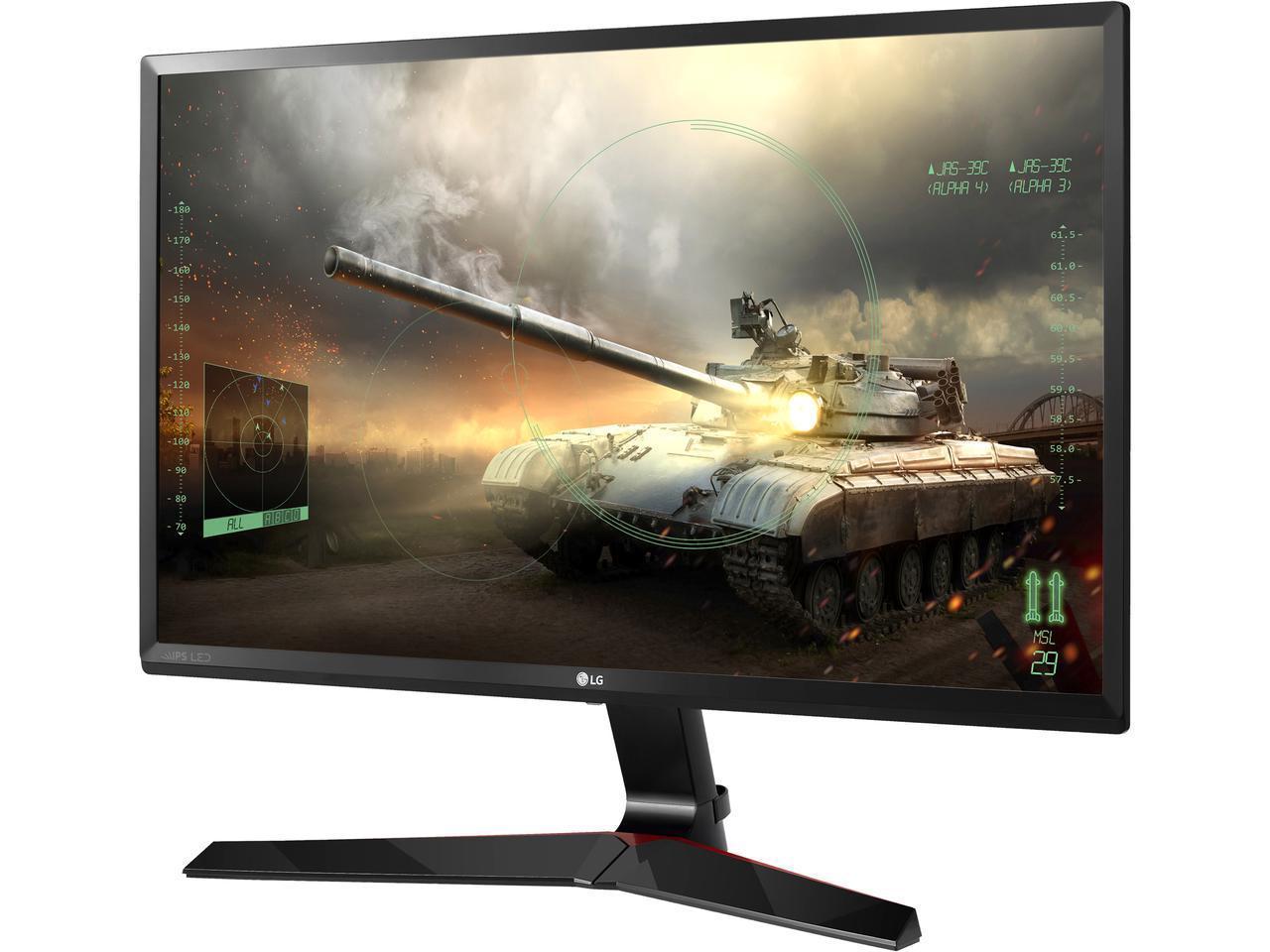 "23.8"" LG 24MP59G Black 1920x1080 5ms 75Hz IPS FreeSync LED Gaming Monitor for $109.99 AR & More + Free Ship @ Newegg"