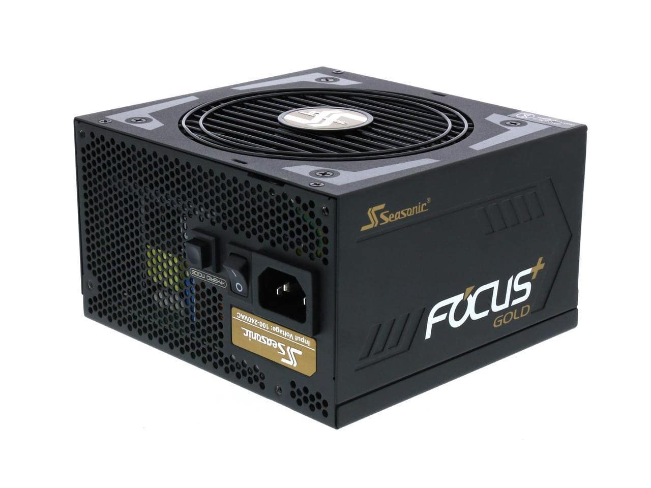 550 Watt Seasonic FOCUS Plus 80 Plus Gold Certified Full Modular Power Supply for $54.99 AR + Free Ship @ Newegg