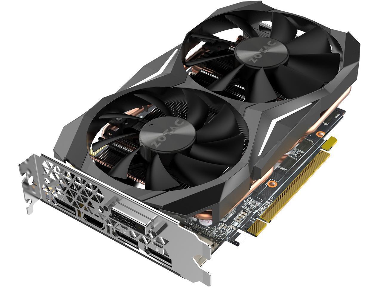 ZOTAC GeForce GTX 1080 Mini 8GB 256-Bit GDDR5X IceStorm Dual-Fan Cooling PCI-E 3.0 Video Card for $499.99 AR + Free Ship @ Newegg