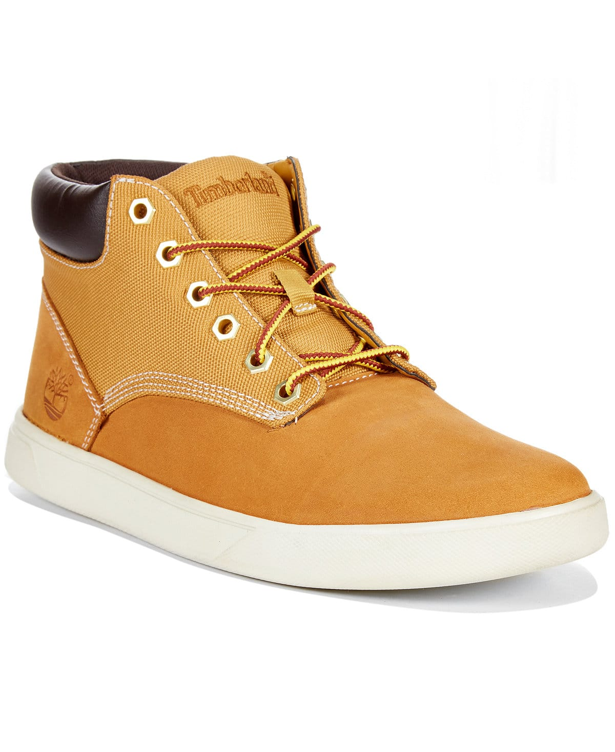 Timberland Groveton Men Round Toe Synthetic Blue Fashion Sneakers $66.99